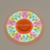 Blinkende ändernde erwachsene Spielwaren RGB-LED für entspannenden lustigen Bestseller-Handfinger-Unruhe-Spinner