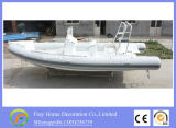 6.8m Ce Fiberglass Rib Sport Boat, Barco de pesca