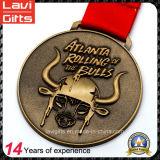 Venta caliente y calidad de encargo de la calabaza medalla metal de alta
