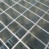 Galvanización en caliente de prensa bloqueado rejilla de acero para cubrir la zanja