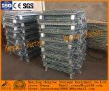 Faltender Stahlmaschendraht-Behälter für Lager-Speicher