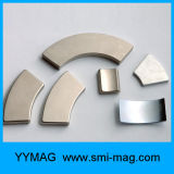 電気バイクのための強いネオジムの磁石N45によってセグメント化されるアークの磁石