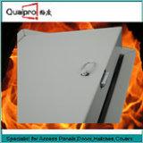 De brand schatte toegangspaneel kan met cilinderslot AP7110 worden aangepast