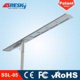 Catalogue des prix extérieur de réverbère de détecteur de mouvement de lampe de jardin d'éclairage solaire neuf du modèle DEL