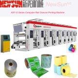 Machine d'impression automatisée par série de rotogravure de film plastique de longeron d'asy-g
