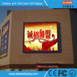 Hohe im Freien Digitalanzeigen-Reklameanzeige der Helligkeits-P16