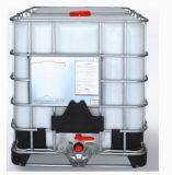 Пластичный бак IBC с гальванизированным стальным снаружи