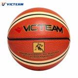 Alta calidad a granel personalizada de baloncesto de cuero
