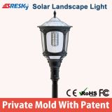 Novo Produto Iluminação de iluminação solar solar exterior ao ar livre com ótimo preço