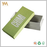 Rectángulo de empaquetado del regalo de la joyería de Customed de la alta calidad