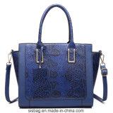 女性PUの革ハンドバッグデザイナーワニのヘビのショルダー・バッグ