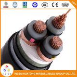 Cabo distribuidor de corrente do cabo Cu/XLPE/Swa/PVC de Americal UL1072 milivolt