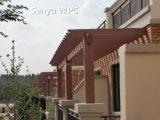 WPCの緑の物質的な屋外のPergola