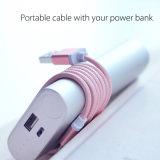обязанность Sync данным по кабеля USB алюминиевого Braided Nylon провода освещения 8pin 1m прочная для iPad 6s 7 iPhone 6 добавочного