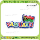 カスタマイズされた昇進のギフトの装飾PVC冷却装置磁石の記念品バヌアツ(RC- VU)
