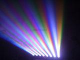 8*10W LEDの移動ヘッドビーム軽い段階の照明によってDJはディスコの結婚式の照明がパーティを楽しむ