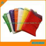 Cipolle di verdure dell'imballaggio tubolare e sacchetti netti della maglia del Drawstring della patata per imballaggio 10kg, 20kg
