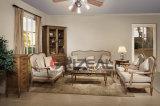 Jogo do sofá da sala de visitas da sala de estar do Chaise do Recliner da madeira contínua