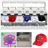 Wonyo 6 de Hoofd Geautomatiseerde Machine van het Borduurwerk van GLB &T-Shirt& Vlakke met Vrije Ontwerpen