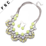 卸し売り火葬の宝石類の最新のモデル宝石類はネックレスのイヤリングによってセットした