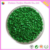 Masterbatch verde com portador do HDPE