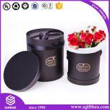 Da flor redonda impermeável da câmara de ar de Rosa caixa de presente de empacotamento de papel