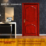 실내 나무로 되는 Pooja 룸 문 디자인 (GSP2-026)