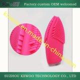 Borstel van de Was van het Reinigingsmiddel van het silicone de Gezichts