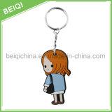 記念品のギフトのための高品質の習慣PVC Keychain /Rubber Keychain