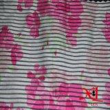 Tela Chiffon da impressão para a tela do poliéster da tela do vestuário do verão