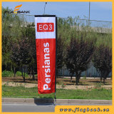 3.4m Advertizing Fiberglass Digital Printing Rectangular Flag/Flying Flag
