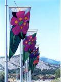 Знамя ткани знака промотирования торговой выставки хозяйственное