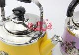 Caldaia di colore del fiore della stampa dell'acciaio inossidabile con il filtro (FT-01302)
