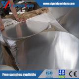 Círculo de giro do alumínio da qualidade/o de alumínio (1050 1060 1070 1100 3003 3004)