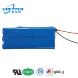 18650 Batterie Ion Lithium 14.8V / 6.6ah pour éclairage LED