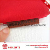 Saco cosmético da lona relativa à promoção vermelha da forma para o presente das mulheres