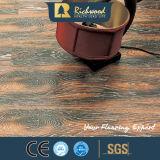 광고 방송 8.3mm HDF AC4는 밀초를 바른 가장자리 합판 제품 마루를 돋을새김했다