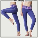OEM de Broek van de Yoga van Sportwear van de Slijtage van de Yoga van Vrouwen met de Kleur van de Douane