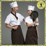 Uniformi indiane unisex moderne della cucina del ristorante per il cuoco unico