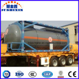 Conteneur toxique corrosif chimique de réservoir de transport d'OIN avec le prix concurrentiel