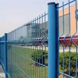 중국 우수한 분말은 입혔다 정원 철에 의하여 용접된 철사 담 (PCWF)를