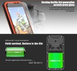 "Vphone元の第1のM3携帯電話5.0 "" HD Mtk6735のクォードのコア2g RAM 16g ROM IP68は携帯電話3300mAh 4G Lteのスマートな電話黒を防水する"