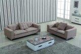 Base di sofà di legno del tessuto della mobilia europea