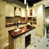 Grande mobília modular da cozinha da madeira de carvalho