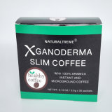 Café de Ganoderma de la escritura de la etiqueta privada para adelgazar de la pérdida de peso