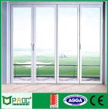 Portelli di vetro della stoffa per tendine di alluminio di 50 serie con lo standard australiano