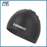 Custom Printing Silicone Swimming Cap Chapéus de silicone impermeáveis