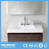 Vanité fixée au mur de salle de bains de qualité avec le tiroir en métal de Module et de cheval de miroir (BF354D)