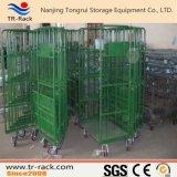 Carro logístico do trole da mão para o armazenamento da carga do armazém