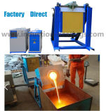 печь индукции 50kw плавя для медного алюминиевого стального золота